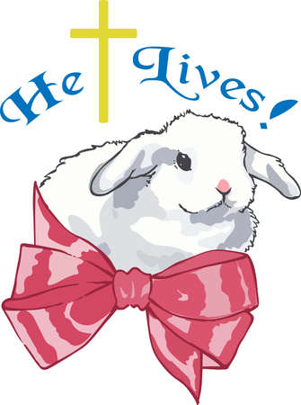 cottontail: An adorable bunny is a classic Easter decoration.