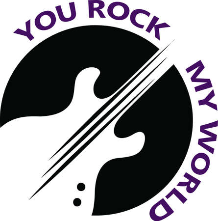 Musicians will love a great guitar logo.