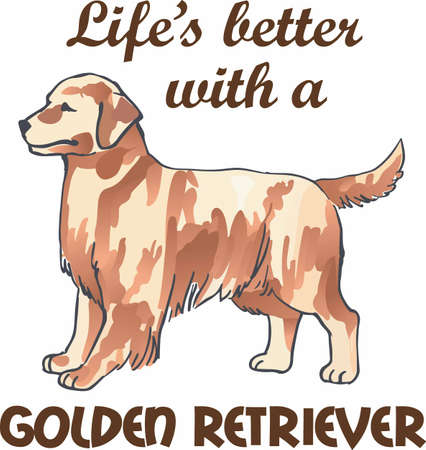 golden retriever puppy: Have a golden retriever with you always with this dog.