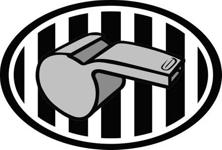linesman: Use this referee logo design for your next project.