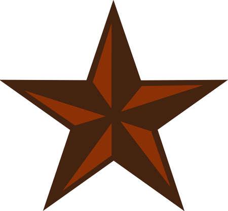 서부 프로젝트에이 위대한 스타를 넣습니다. 일러스트