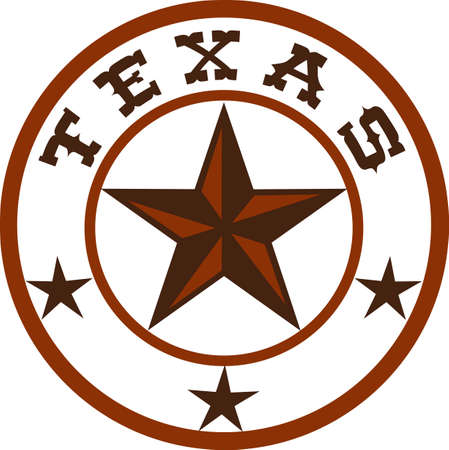 western united states: Put this great star on a western project.