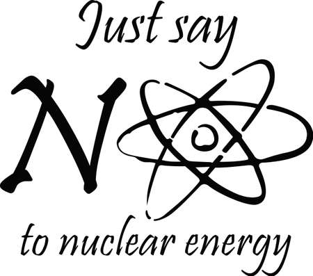 Nuclear energy is the wave of the future.  Grab these designs from Great Notions. Stok Fotoğraf - 45348776