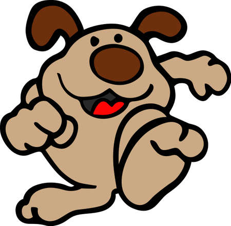 animal lover: This silly dog will make a great design for an animal lover.