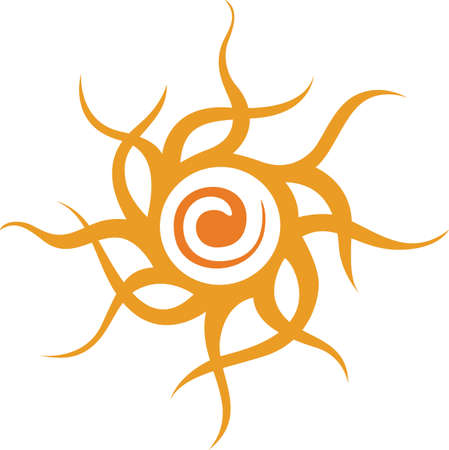 This beautiful tribal design features the sun Hopi.  A beautiful addition to a hat or shirt.  Get these designs from Great Notions.