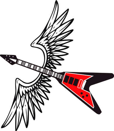 notions: Excuse me while is kiss the sky with my guitar and this design from Great Notions.