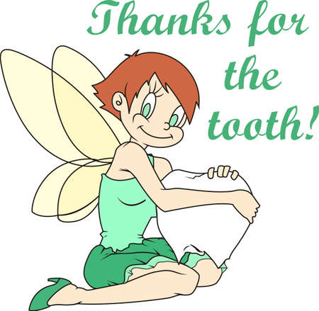 I lost my 1st tooth; Im ready for the tooth fairy to visit me.  Give this to your child when they lose their tooth.  They will be so excited!
