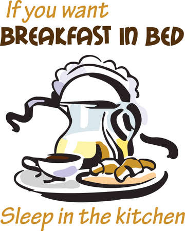 breakfast in bed: Its a special day to have breakfast in bed.  Get these designs from Great Notions.