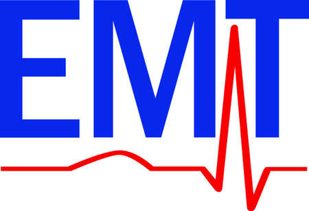 electrocardiograph: This design will be a great logo for an EMT on a hat.