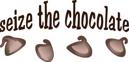 Everyone loves chocolate chips and what a cute phrase to add to a shirt or hat.