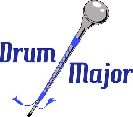 Marching bands are the perfect halftime entertainment. Illustration