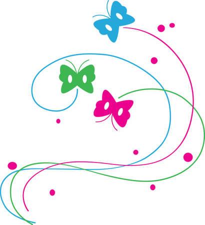 Schmetterlinge machen schöne Einrichtung für jedes Projekt. Standard-Bild - 45350478