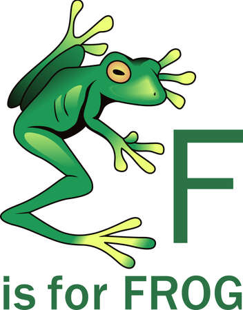 notions: This adorable frog just makes you smile.  Brighten someones day with this design from Great Notions. Illustration