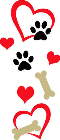 Put this design on a project for a favorite pet.