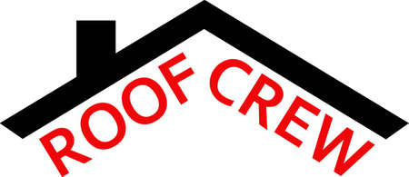 roof line: This roof line will make a great logo for a construction company. Vectores