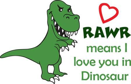 아이들은 공룡을 좋아하며 프로젝트에서이 공룡을 좋아할 것입니다.