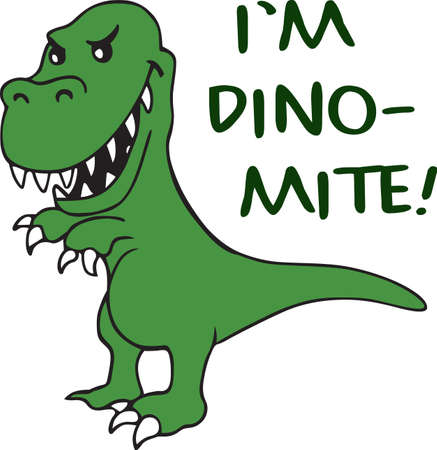 amuse: Kids love dinosaurs and will like this one on a project.
