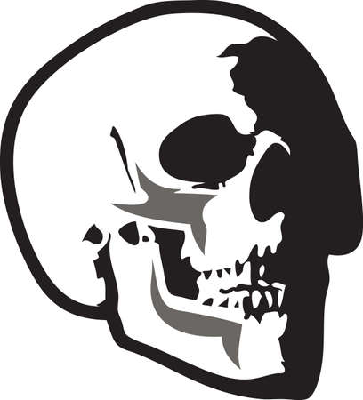 cranium: This skull will be a wonderful design for a grateful dead fan.