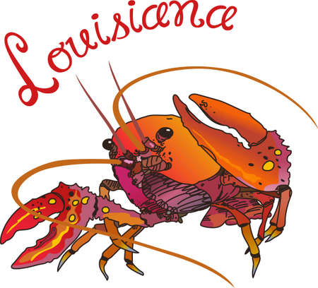 new orleans: Crawdads are a Cajun favorite.  Put them on a kitchen towel or apron for New Orleans feel.