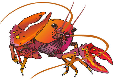 langouste: Crawdads are a Cajun favorite.  Put them on a kitchen towel or apron for New Orleans feel.