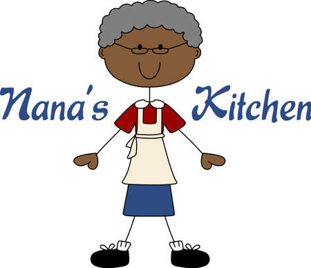 grannies: Put a grandmother on a project for a loving cooking design.