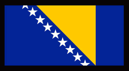 Perfetto per le Olimpiadi per visualizzare il vostro amore e rispetto verso la vostra nazione con questo flag. Un bel disegno da Great nozioni. Archivio Fotografico - 45351183