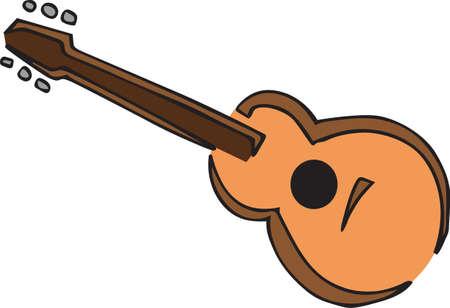 컨트리 음악은 어쿠스틱 기타에 좋습니다.