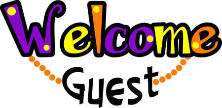 Make a colorful welcome towel for your house guests.