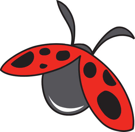 ladybug: Make a lovely garden project with a sweet ladybug.