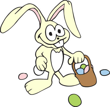 cottontail: A silly bunny is a great for delivering Easter eggs.