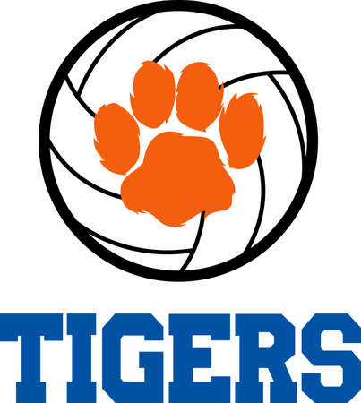 wildcats: Use this wildcats design on your next Volleyball sport project Illustration