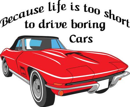 Het leven is te kort om saaie auto's rijden. Neem dit ontwerp met u om uw volgende auto tonen in te voeren!
