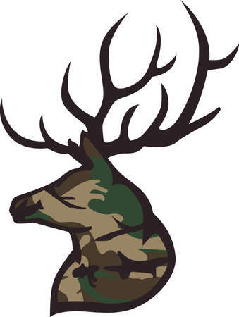 whitetail deer: Life is simple, go hunting!  Get matching items for everyone in your group, they will love it!