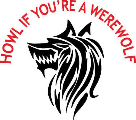A werewolf is a wonderful fantasy creature.
