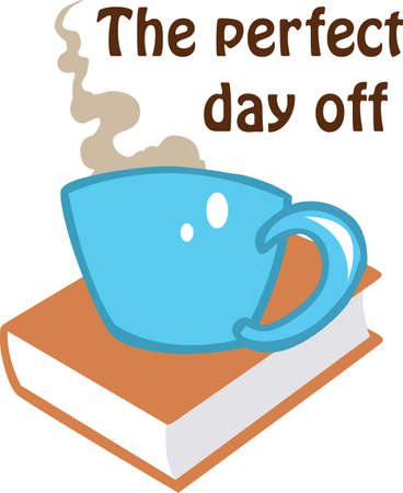 Relax with a good book and cup of coffee.