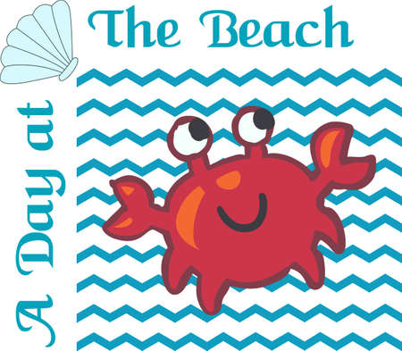 sea creature: Make a fun summer project with a cute sea creature.