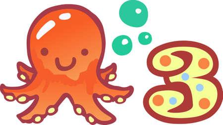 amusing: Make a fun summer project with a cute sea creature.