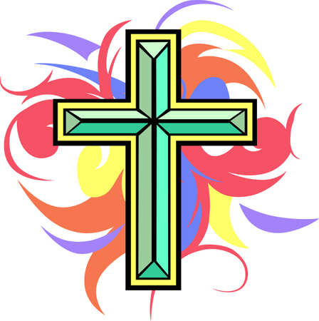 calvary: A beautiful cross makes a great Easter design.