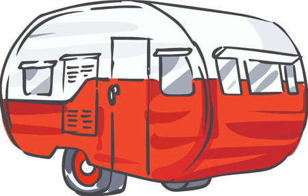 recreational vehicle: Show off your love for camping with a great vintage camper.
