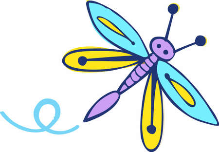 Were celebrating the Dog Days of Summer with a beautiful dragonfly to BEAT THE HEAT! Get this design by Great Notions!
