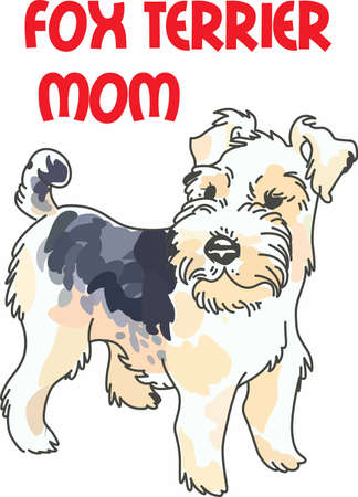 bred: Have a cute wire hair fox terrier with you whereever you go with this litte dog.