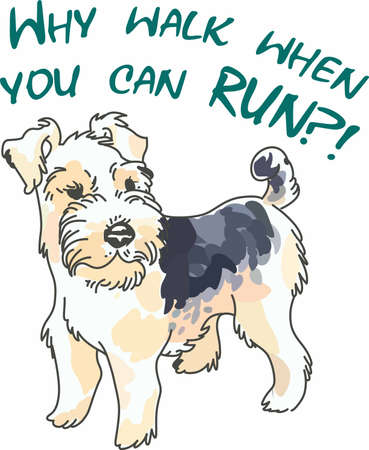 fox terrier: Have a cute wire hair fox terrier with you whereever you go with this litte dog.