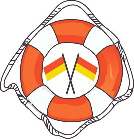 preserver: You always need a life preserver to go boating.