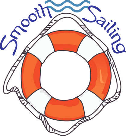 boating: You always need a life preserver to go boating.