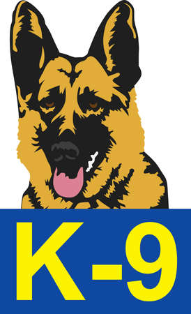 k9: Make a great sign for a special working dog.