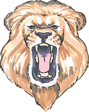 Support your favorite team with a lion mascot.