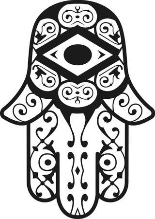jews: Have a Hamsa evil eye to protect you.