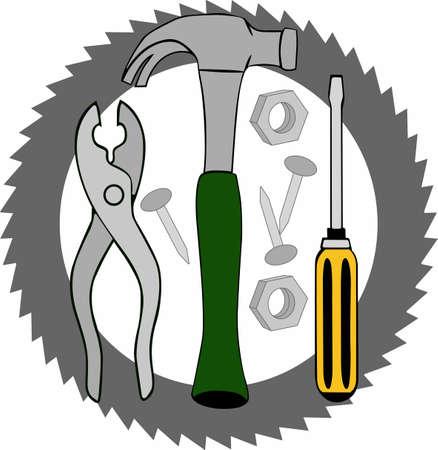すべての修理、fixit の作業を Handymans ツールの完全なセット。