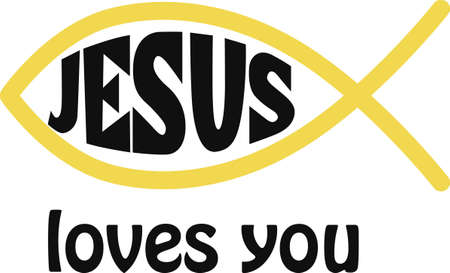 icthus: Display your love of Jesus with a religious symbol.