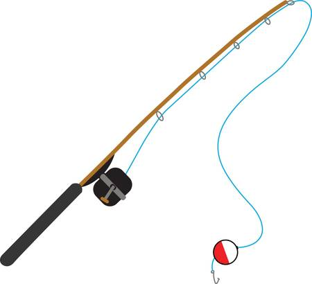 Any fisherman will love a cool rod.